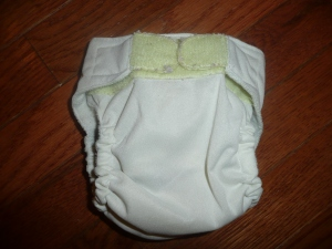 "Diaper made from ""Cloth Revolution"" pattern"